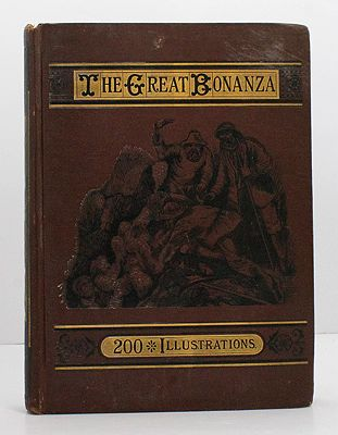 GREAT BONANZA, THE: ILLUSTRATED NARRATIVE OF ADVENTURE AND DISCOVERY IN GOLD MINING, SILVER MINING, AMONG THE RAFTSMEN, IN THE OIL REGIONS (of Pennsylvania), WHALING, HUNTING, AND FIGHTINGOptic, Oliver, Ballantyne, R. M., Hall, Cap - Product Image