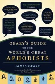 Geary's Guide to the World's Great Aphoristsby: Geary, James - Product Image