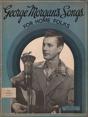 George Morgan's Songs for Home FolksMorgan, George - Product Image