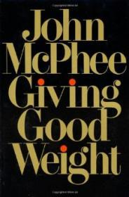 Giving Good WeightMcPhee, John - Product Image