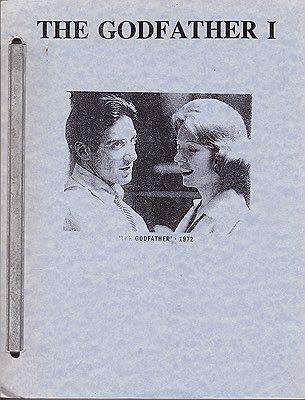 Godfather, The: Part ( 1 ) I - The ScreenplayPuzo Mario & Francis Ford Coppola  - Product Image