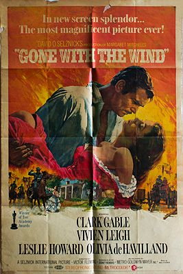 Gone With the Wind (MOVIE POSTER)illustrator- N/A - Product Image