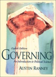 Governing: An Introduction to Political Science Ranney, Austin - Product Image