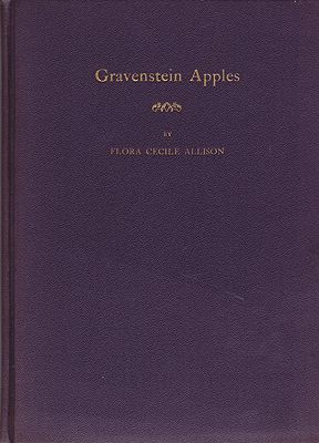Gravenstein Apples: A Little Book of VerseAllison, Flora Cecile - Product Image
