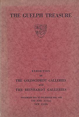 Guelph Treasure, The: Catalogue of the ExhibitionThe Goldschmidt Galleries - Product Image