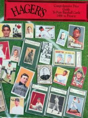 Hager's Comprehensive Price Guide to Rare Baseball Cards 1886 to Present of 5by: No Author - Product Image