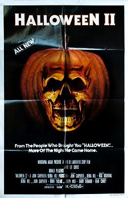 Halloween II (MOVIE POSTER)illustrator- N/A - Product Image