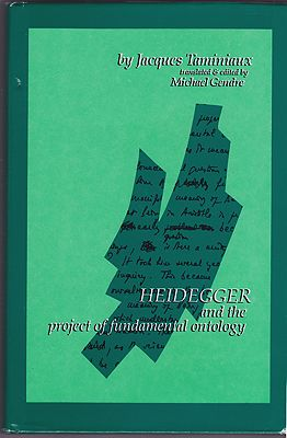 Heidegger and the Project of Fundamental OntologyTaminiaux, Jacques - Product Image