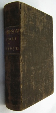 History of Vermont, Natural, Civil and Statistical, In Three Parts, With a New Map of the State, and 200 Engravings Thompson, Zadock - Product Image
