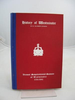 History of WestminsterMinard, M. Elizabeth - Product Image