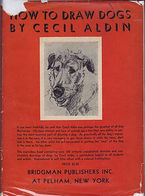 How to Draw DogsAldin, Cecil, Illust. by: Cecil  Aldin - Product Image