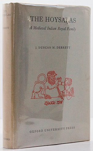 Hoysalas - A Medieval Indian Royal Family, TheDerrett, J. Duncan M. - Product Image