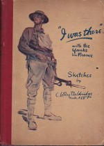 """I Was There"" with the Yanks in France: Sketches (With a handwritten soldier's letter and photograph)by: Baldridge, C. LeRoy - Product Image"