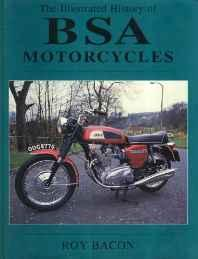 Illustrated History of BSA MotorcyclesBacon, Roy - Product Image
