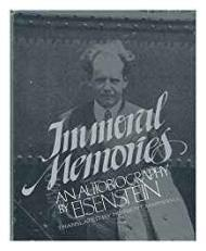 Immoral Memories: An Autobiographyby: Eisenstein, Sergei - Product Image