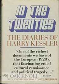 In the Twenties: The Diaries of Harry Kesslerby: Kessler, Harry - Product Image