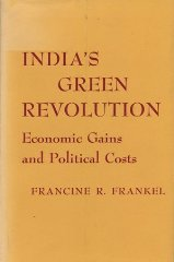India's green revolution;: Economic gains and political costsFrankel, Francine R - Product Image