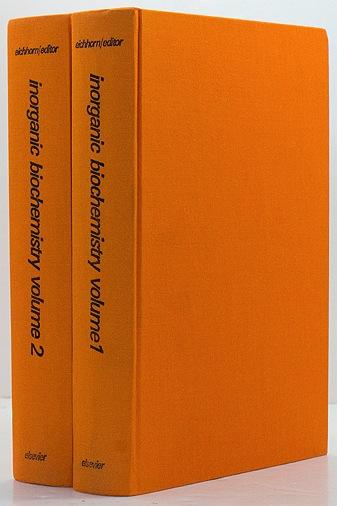 Inorganic biochemistry (2 Volumes)Eichhorn, Gunther L. - Product Image