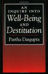 Inquiry into Well-Being and Destitution, An Dasgupta, Partha - Product Image