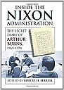 Inside the Nixon Administration: The Secret Diary of Arthur Burns, 1969-1974Ferrell, Robert H - Product Image