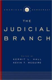 Institutions of American Democracy: The Judicial Branchby: Hall, Kermit L. (Editor) - Product Image
