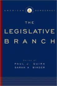 Institutions of American Democracy: The Legislative Branchby: Quirk, Paul J. (Editor) - Product Image