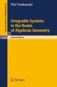 Integrable Systems in the realm of Algebraic Geometry (Lecture Notes in Mathematics)Vanhaecke, Pol - Product Image