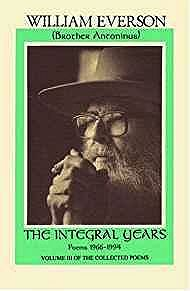 Integral Years, The: Poems 1966-1994Everson, William - Product Image