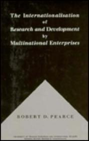 Internationalisation of Research and Development by Multinational Enterprisesby: Pearce, Robert D. - Product Image