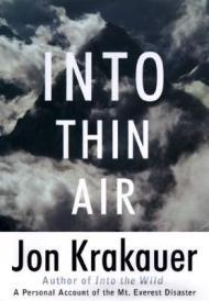 Into Thin Air: A Personal Account of the Mount Everest Disasterby: Krakauer, Jon - Product Image