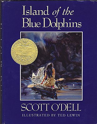 Island of the Blue DolphinsO'Dell, Scott, Illust. by: Ted  Lewin - Product Image