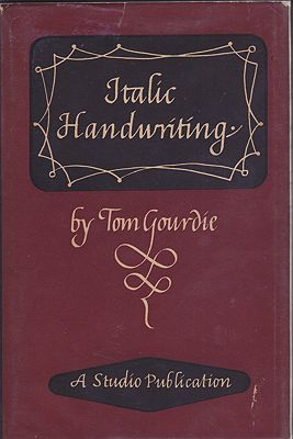 Italic HandwritingGourdie, Tom - Product Image