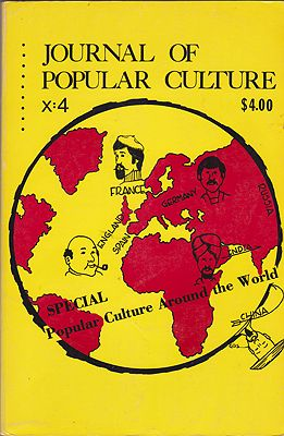 JOURNAL OF POPULAR CULTURE Volume X Spring 1977 No. 4Brown (Ed.), Ray B. - Product Image