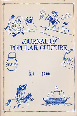 JOURNAL OF POPULAR CULTURE Volume X Summer 1976 No. 1Brown (Ed.), Ray B. - Product Image