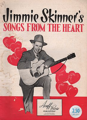 Jimmie Skinner's Songs from the HeartSkinner, Jimmie - Product Image