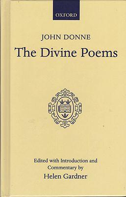 John Donne: The Divine PoemsGardner (Ed.), Helen and John Donne - Product Image