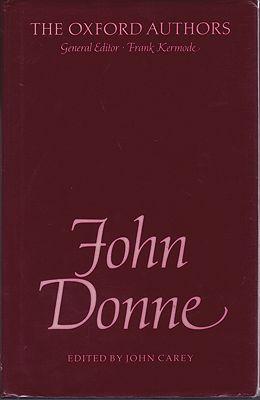 John DonneCarey (Editor), John/Frank Kermode (General Editor) - Product Image