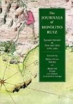 Journals of Hippolito Ruiz, The : Spanish Botanist in Peru and Chile, 1777-1788by: Ruiz, Hipolito - Product Image
