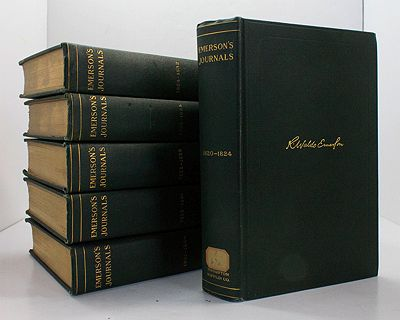 Journals of Ralph Waldo Emerson with Annotations - Edited by Edward Waldo Emerson and Waldo Emerson Forbes - 6 Volumes - 1820-1844Emerson, Ralph Waldo/Edward Waldo Emerson/Waldo Emerson Forbes - Product Image