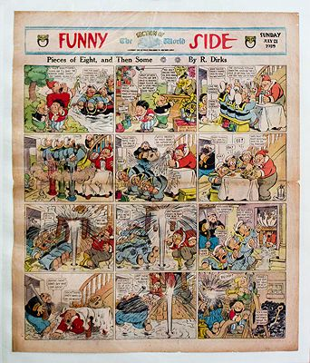 Katzenjammer Kids Original Comic Strips - Five PagesDirks, Rudolph, Illust. by: Randolph  Dirks - Product Image