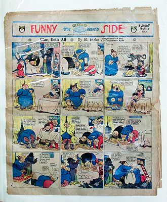 Katzenjammer Kids Original Comic Strips - Ten PagesDirks, Rudolph, Illust. by: Randolph  Dirks - Product Image