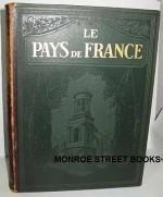 Le Pays De France (3 Vols.)by: Monmarche, Marcel and Lucien Tillion - Product Image