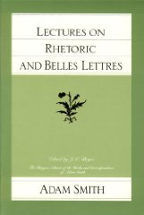 Lectures on Rhetoric and Belles LettresSmith, Adam - Product Image
