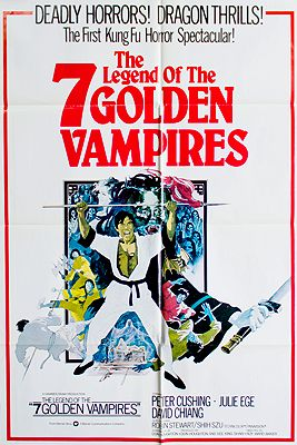 Legend of the 7 Golden Vampires (MOVIE POSTER)illustrator- N/A - Product Image