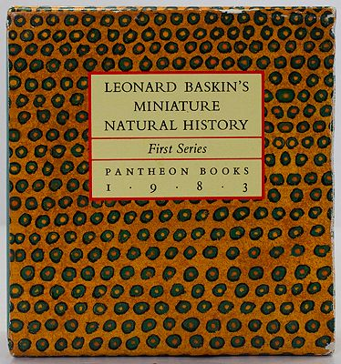 Leonard Baskin's Miniature Natural History First SeriesBaskin, Leonard, Illust. by: Leonard  Baskin - Product Image