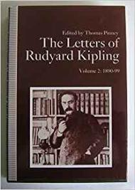 Letters of Rudyard Kipling, The: Volume 2: 1890-99by- Kipling, Rudyard - Product Image