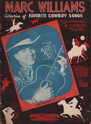 Marc Williams: Collection of Favorite Cowboy SongsWilliams, Marc - Product Image