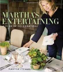 Martha's entertainingStewart, Martha - Product Image