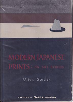 Modern Japanese Prints: An Art RebornStatler, Oliver - Product Image