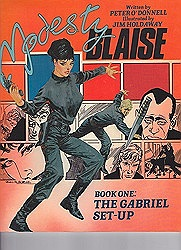 Modesty Blaise: The Gabriel Set-Upby: O'Donnell, Peter and Jim Holdaway - Product Image